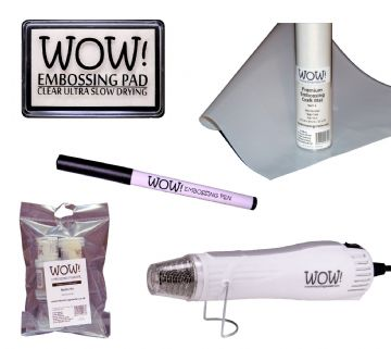 WOW! Embossing Essentials Kit (UK)